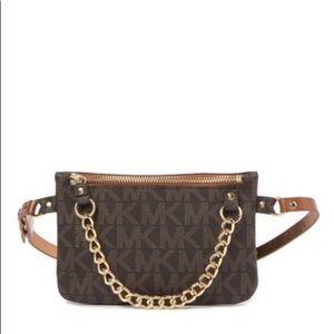 MK chain pulled belt bag